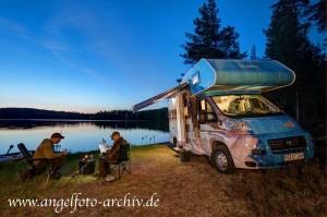 Abendstimmung in Schweden